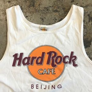 VINTAGE 90s HARD ROCK CAFE TANK TOP SHIRT